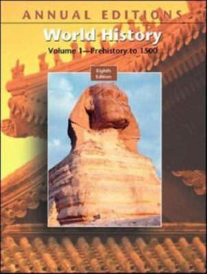 Annual Editions: World History, Volume I, 8/E