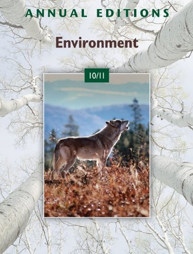 Annual Editions: Environment 9780073515564