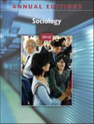 Annual Editions: Sociology 09/10 9780078127724