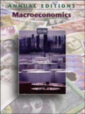 Annual Editions: Macroeconomics 05/06 9780073108285