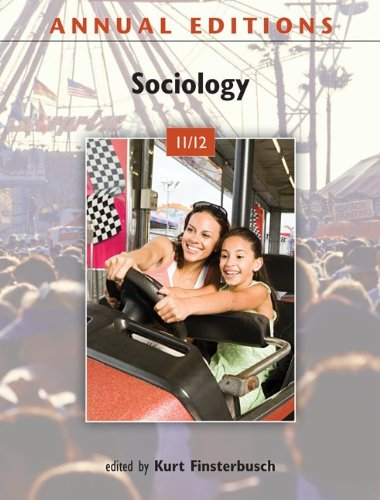 Annual Editions: Sociology 9780078050732