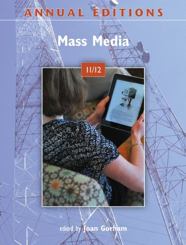 Annual Editions: Mass Media 11/12 9780078050909