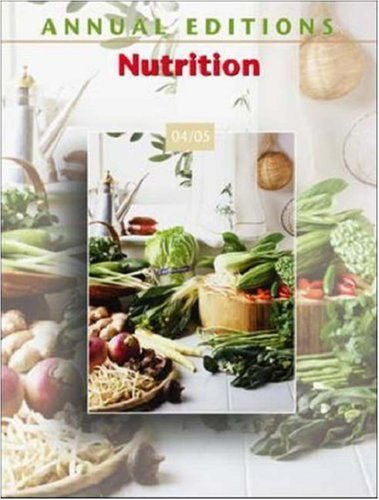 Annual Editions: Nutrition 04/05 9780072861334