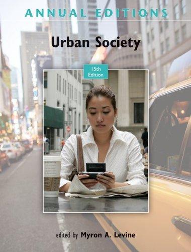 Annual Editions: Urban Society 9780078050985