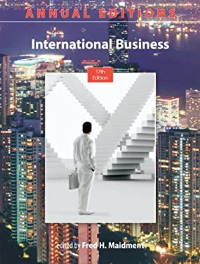 Annual Editions: International Business, 17/E 9780073528755