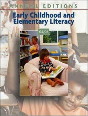 Annual Editions: Early Childhood and Elementary Literacy 05/06 9780073199009