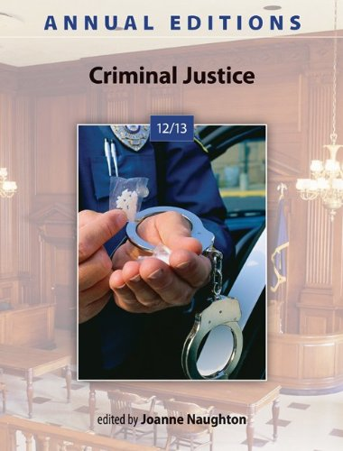 Annual Editions: Criminal Justice 12/13 9780078051272