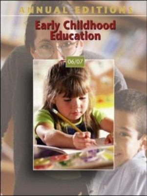 Annual Editions: Early Childhood Education 9780073516073