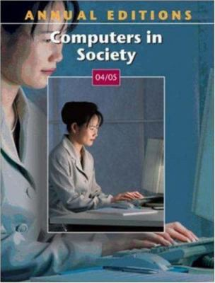 Annual Editions: Computers in Society 04/05 9780072847178