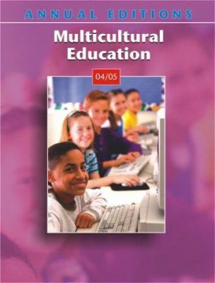 Annual Editions: Multicultural Education 04/05 9780072874372