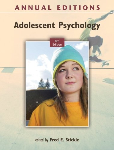Adolescent Psychology 9780078050992