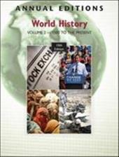 World History, Volume 2: 1500 to Present
