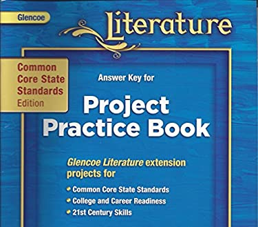 Answer Key for Project Practice Book, CC Standards Edition Grade 6, Course 1