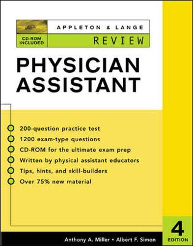 Appleton & Lange Review for the Physician Assistant [With CDROM] 9780071375443
