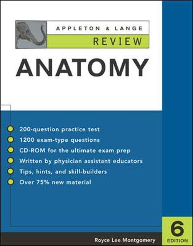 Appleton & Lange's Review of Anatomy 9780071377270