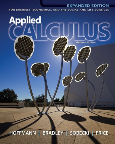 Applied Calculus for Business, Economics, and the Social and Life Sciences, Expanded Edition 9780073532370