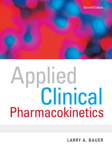 Applied Clinical Pharmacokinetics 9780071476287