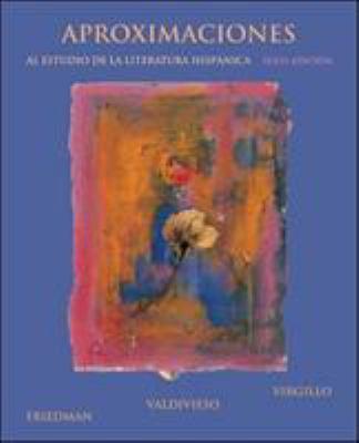 Aproximaciones al Estudio de la Literatura Hispanica 9780073513157