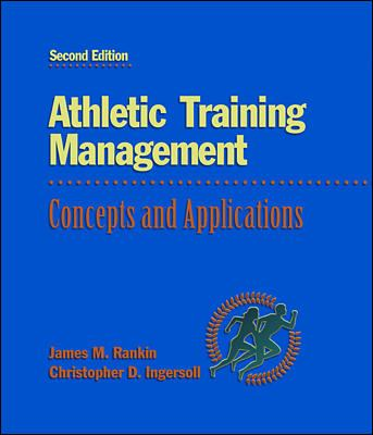 Athletic Training Management: Concepts and Applications 9780070921436