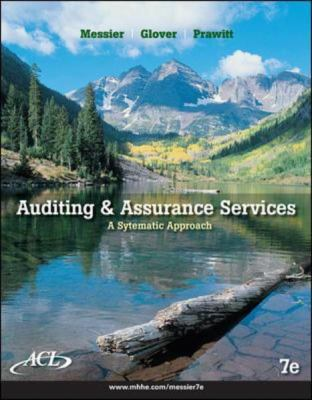 Auditing and Assurance Services with ACL Software CD 9780077343460