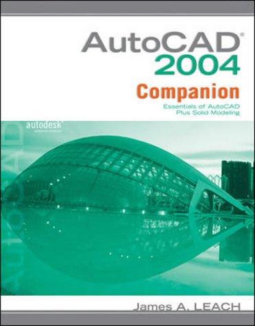 AutoCAD 2004 Companion 9780072936834