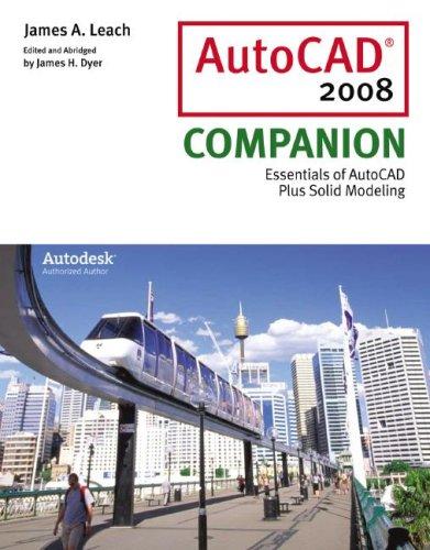AutoCAD 2008 Companion 9780073402468