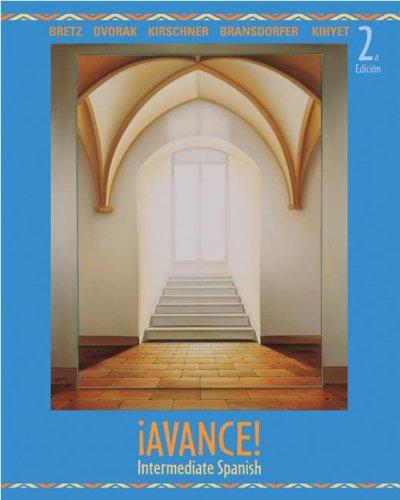 Avance!: Intermediate Spanish 9780073513171
