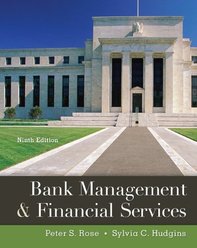 Bank Management & Financial Services 9780078034671