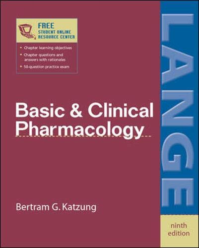 Basic & Clinical Pharmacology 9780071410922