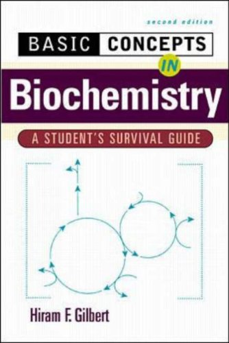 Basic Concepts in Biochemistry: A Student's Survival Guide 9780071356572