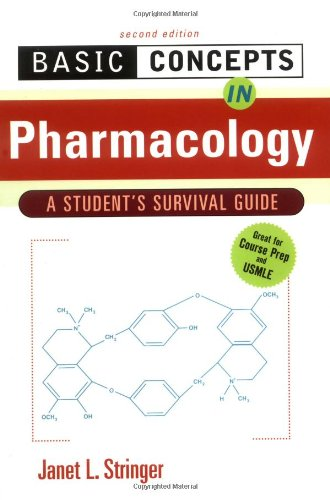 Basic Concepts in Pharmacology: A Student's Survival Guide 9780071356992