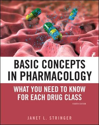 Basic Concepts in Pharmacology: What You Need to Know for Each Drug Class 9780071741040
