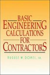 Basic Engineering Calculations for Contractors 234337