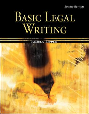 Basic Legal Writing for Paralegals 9780073403038