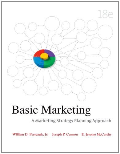 Basic Marketing: A Marketing Strategy Planning Approach 9780073529950