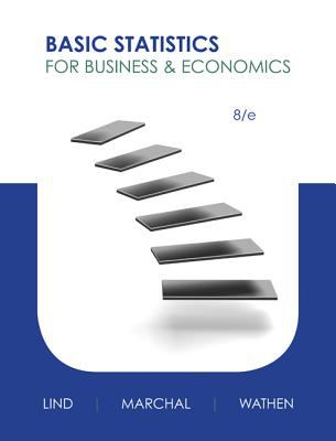 Basic Statistics for Business & Economics 9780077416836