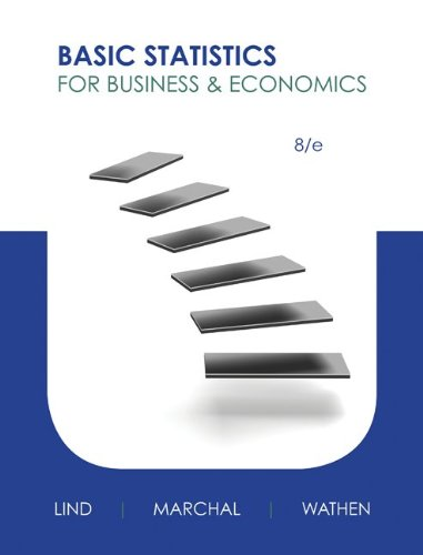 Basic Statistics for Business and Economics - 8th Edition