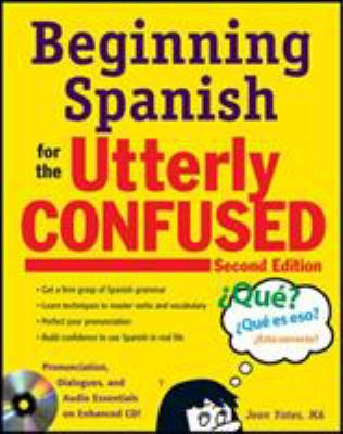 Beginning Spanish for the Utterly Confused [With CD (Audio)] 9780071739634