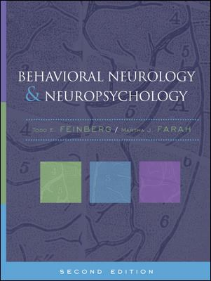 Behavioral Neurology and Neuropsychology, Second Edition 9780071374323