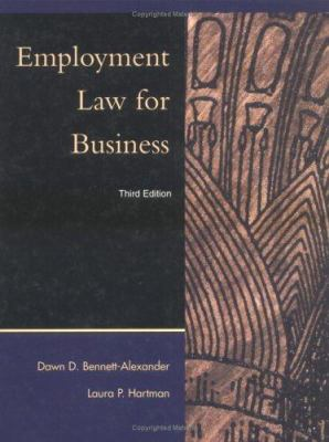 Bennett ] Employment Law for Business ] 2001 ] 3 9780072314038