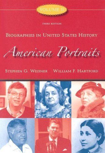 Biographies in United States History
