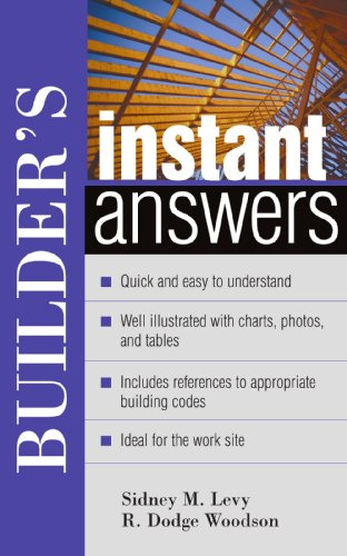 Builder's Instant Answers 9780071395137