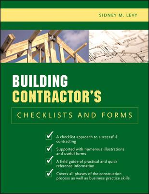 Building Contractor's Checklists and Forms