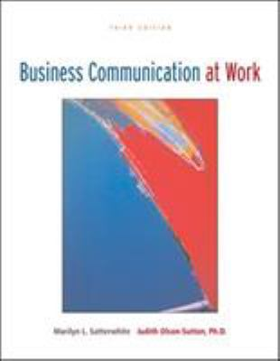Business Communication at Work with Olc Premium Content Card 9780073314273