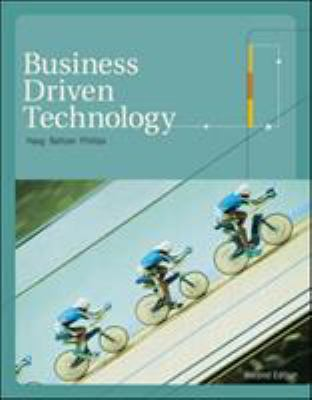 Business Driven Technology [With CD (Audio)] 9780073323060