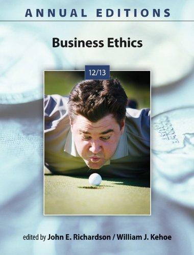 Business Ethics 9780073528724