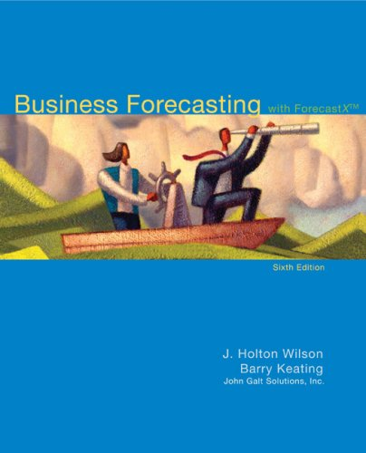 Business Forecasting: with ForecastX [With CDROM] 9780077309305