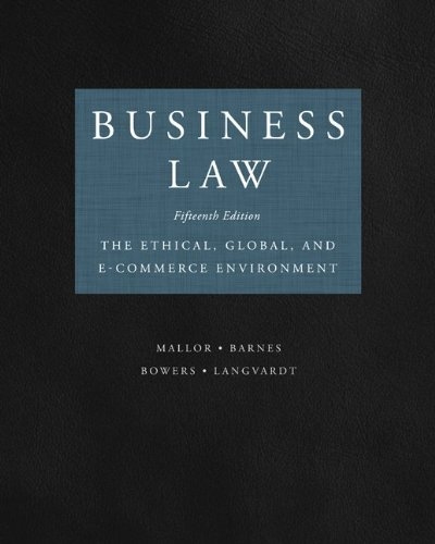 Business Law 9780073524986