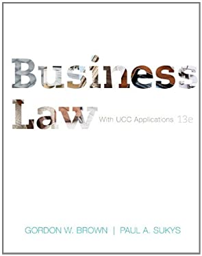 Business Law with Ucc Applications 9780073524955