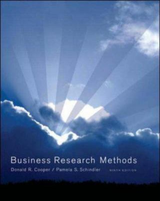 Business Research Methods with CD 9780073214870
